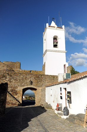 southern europe: castle of Monsaraz, villages of the Alentejo, Portugal, Southern Europe Editorial