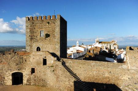 southern europe: Castle of Monsaraz, Alentejo, Portugal, Southern Europe Editorial
