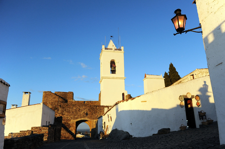 southern europe: Monsaraz at sunset, villages of the Alentejo, Portugal, Southern Europe