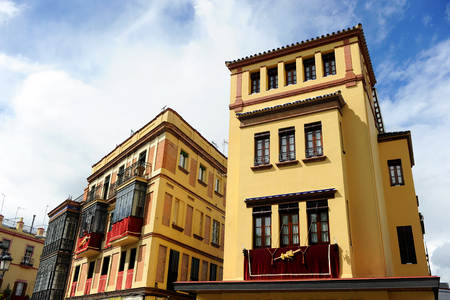 Triana district in Holy Week, Seville, Spain