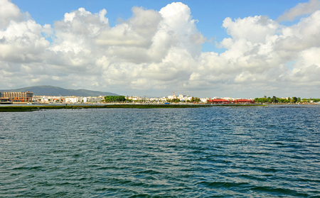 formosa: panoramic view of Olhao, Algarve, south of Portugal, Europe Stock Photo