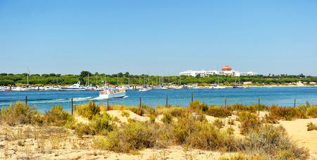 Parc naturel des marais de Rio Piedras et Flecha del Rompido, Huelva, Espagne
