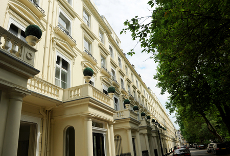 way of living: Victorian building in Bayswater, London, United Kingdom