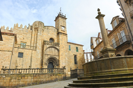 Saint Martin Cathedral, Plaza do Trigo, Ourense, Spain