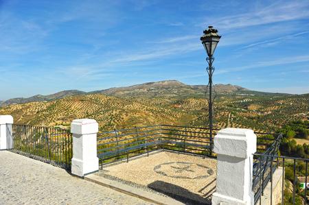 Gazebo of the Adarve in Priego de Cordoba, Andalusia, Spain