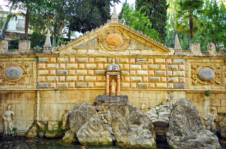 Fountain of Health, Fuente de la Salud, Priego de Cordoba, Andalusia, Spain