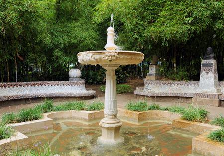 Gazebo of Narciso Diaz Escovar, Park in Malaga, Costa del Sol, Spain