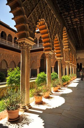 alcazar: Alcazar in Seville, Spain