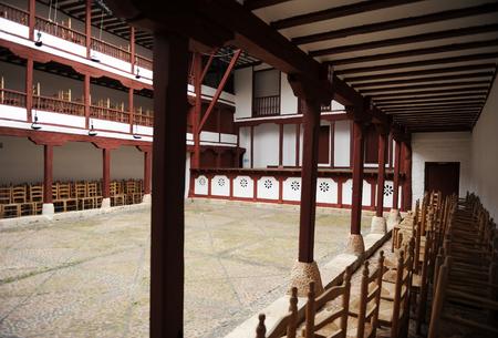 Theater, Corral de Comedias in Almagro, Castilla la Mancha, Spain