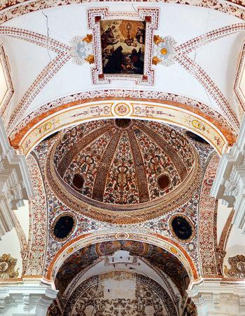 almagro: Interior of the Church of Saint Augustine, Almagro, Castilla la Mancha, Spain, Editorial