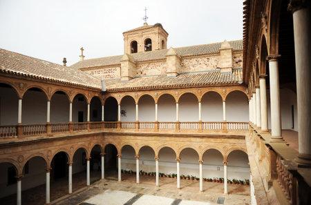 almagro: Almagro, the convent of the Assumption of Calatrava, Castilla la Mancha, Spain