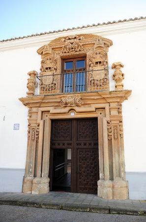 almagro: The Palace of the Counts of Valparaiso, Almagro, Castilla la Mancha, Spain