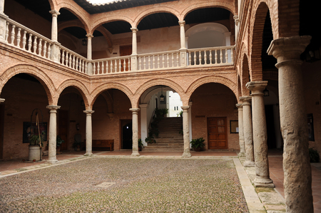 almagro: Fucares Palace, Fugger warehouse in Almagro, province of Ciudad Real, Spain Editorial