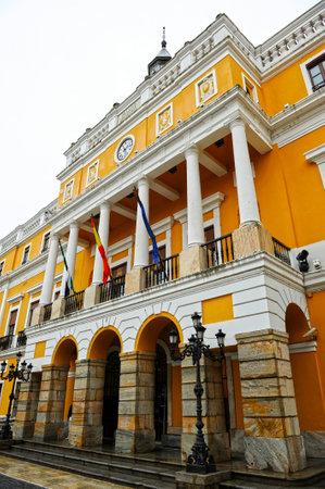 councils: City Hall of Badajoz, Extremadura, Spain Editorial