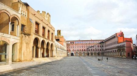 Plaza Alta in Badajoz, Extremadura, Spain