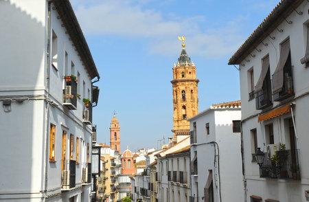 Antequera, monumental city of Malaga province, Spain