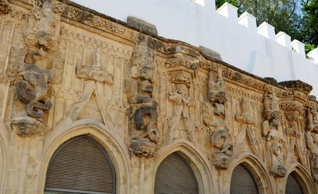 duke: Gothic Covachas in Sanlucar de Barrameda, monumental city of Cadiz province, Spain