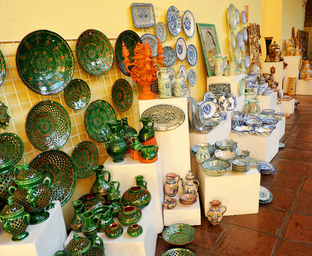 Spanish ceramics crafts souvenirs