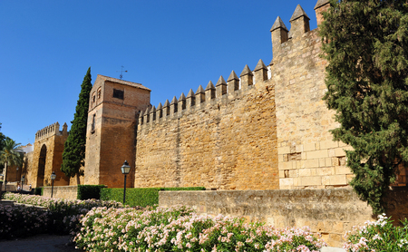 Arabs ramparts of Cordoba, Andalusia, Spain