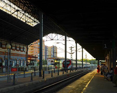 Railway Station of Jerez de la Frontera, Cadiz province, Andalusia, Spain