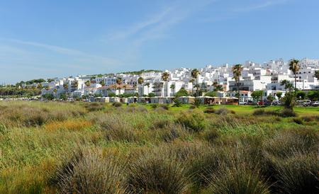 Conil de la Frontera, village andalou de la côte de Cadix, en Espagne
