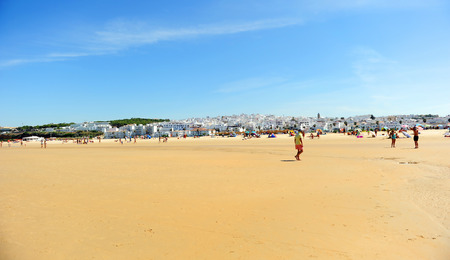 Bateles beach in  Conil de la Frontera, coast of Cadiz, Andalusia, Spain