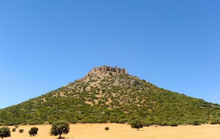 Castle of Calatrava, province of Ciudad Real, Castilla la Mancha, Spain