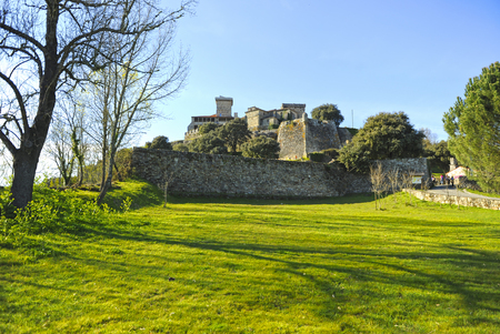 Monterrey Castle in Verin, province of Ourense, Galicia, Spain.