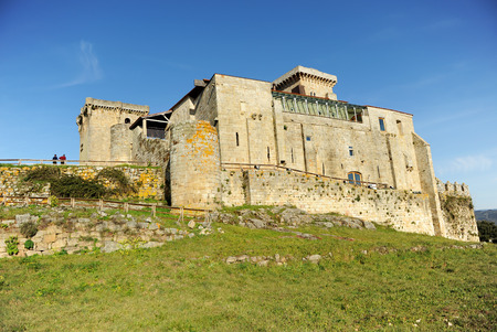 Palace of the Counts,  Monterrey Castle in Verin, province of Ourense, Galicia, Spain.