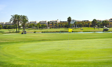 Costa Ballena Golf course in Rota, Cadiz province, Andalusia, Spain 写真素材 - 99913276