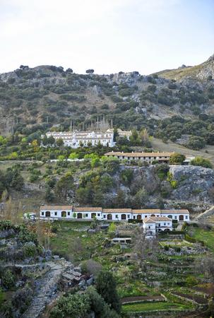 Grazalema village, White Villages in Cadiz province, Andalusia, Spain Banque d'images - 106855010