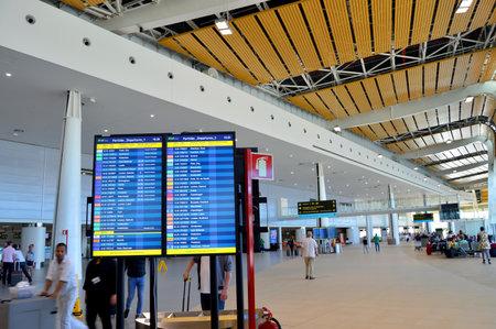 Inside Faro International Airport, Algarve, Portugal Banque d'images - 106711901