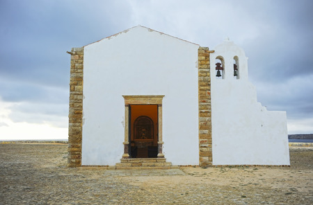Church of Our Lady of Grace in the Fortress (Fortaleza) of Sagres, Algarve, Portugal Banque d'images - 106712210