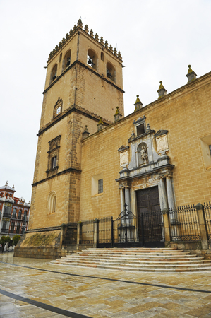 Cathedral of St. John the Baptist, Badajoz, Extremadura, Spain Banque d'images - 106726831