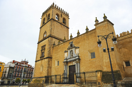 Cathedral of St. John the Baptist, Badajoz, Extremadura, Spain Banque d'images - 106726836