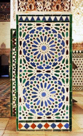 Tiles of Alcazar Seville Spain