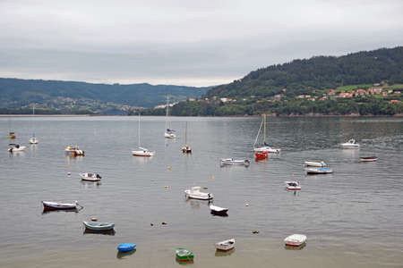 view of the port of nets with the boats together