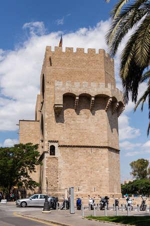 serrano: Serrano Towers in Valencia, Spain
