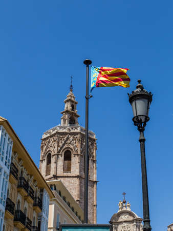 valencia: Cathedral of Valencia, Spain Stock Photo