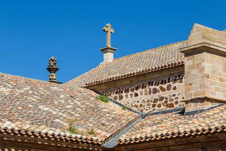 almagro: Roof in Almagro, Spain Stock Photo