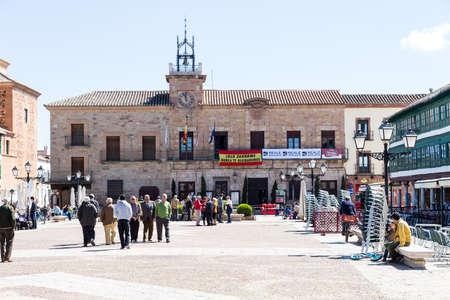 almagro: Town hall of Almagro, Ciudad Real, Spain