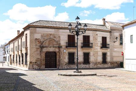 almagro: Building in Almagro, Ciudad Real, Spain Stock Photo