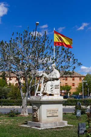 almagro: Statue in Almagro, Ciudad Real, Spain