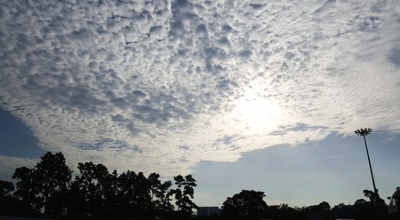 Beautiful Cloudy Sky Light
