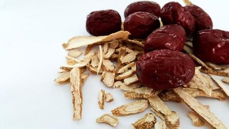 dried herbs: Jujube and Ginseng