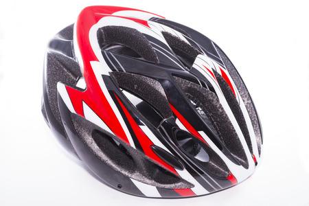 bicycle helmet: Bicycle helmet. Stock Photo