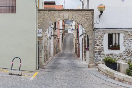 jewry: Jewish Arc of Sagunto Valencia, Spain.