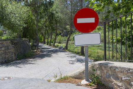 no pase: No hay se�ales de entrada.
