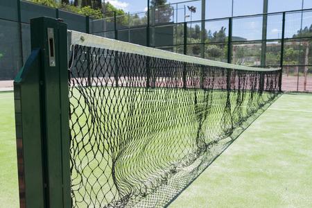 municipal court: Tennis. Stock Photo