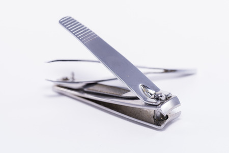 clippers: Nail clippers. Stock Photo